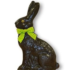 Choco Noir Lapin Assis 250g